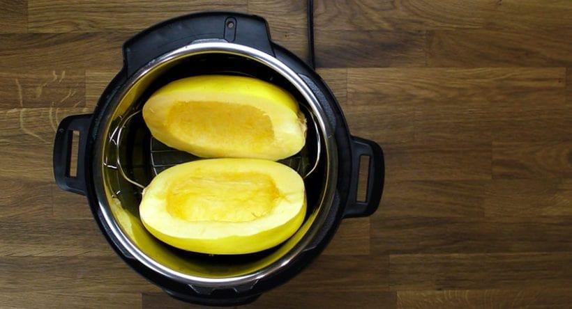 Spaghetti Squash In Pressure Cooker  Instant Pot Spaghetti Squash Recipe
