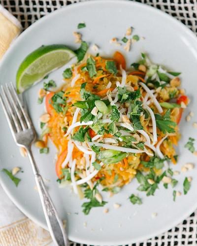 Spaghetti Squash Pad Thai  Shakshuka with Veggies and Chickpeas Recipe Plus 4 Other