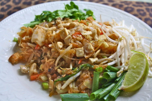 Spaghetti Squash Pad Thai  Healthy Ve arian Spaghetti Squash Pad Thai