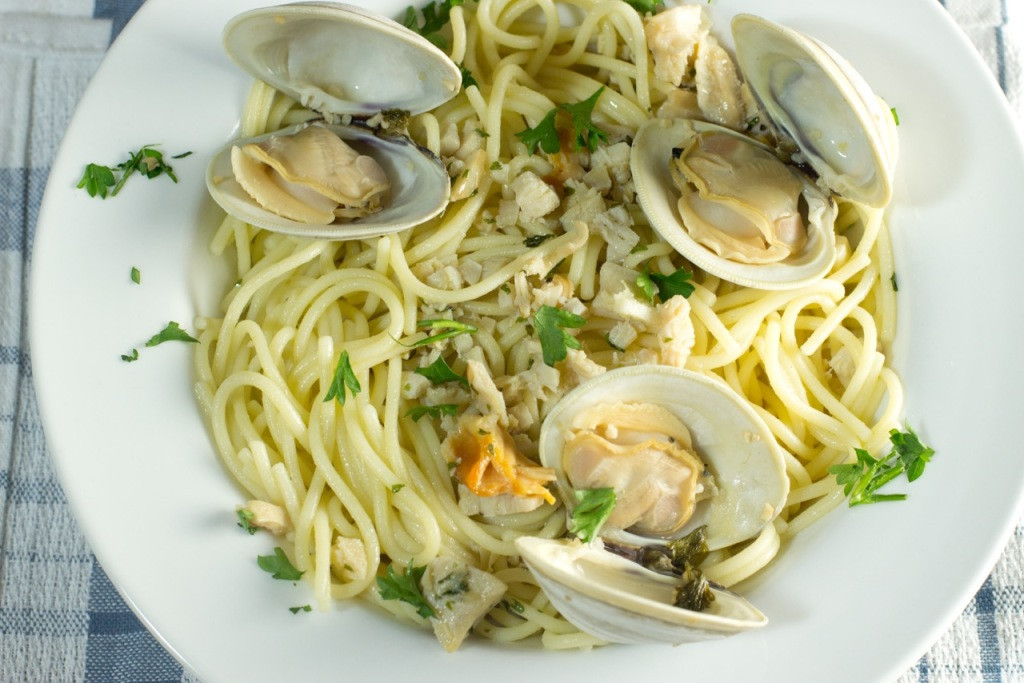 Spaghetti With Clam Sauce  Gluten Free Spaghetti with Clam Sauce