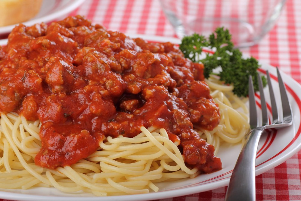 Spaghetti With Meat Sauce  Pasta with Meat Sauce recipe