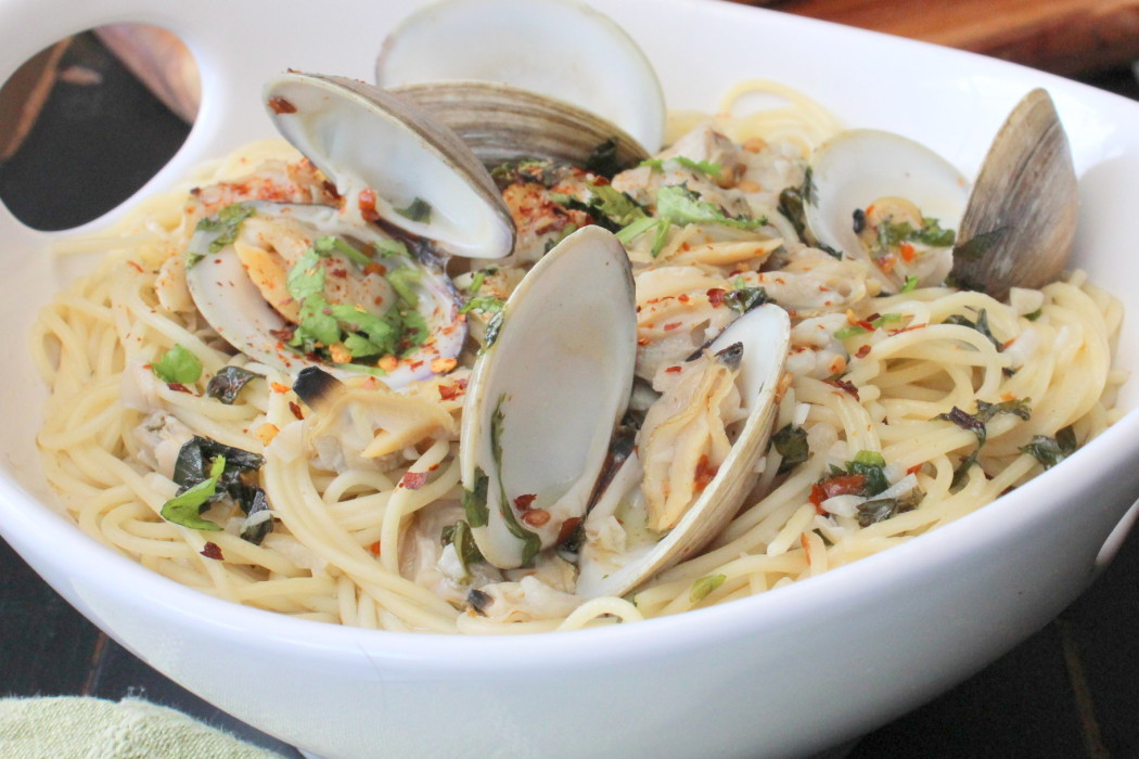 Spaghetti With White Clam Sauce  Pasta with White Clam Sauce How To Feed A Loon