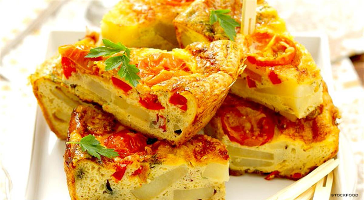 Spanish Breakfast Recipes  Spanish Tortilla Recipe With Cherry Tomatoes