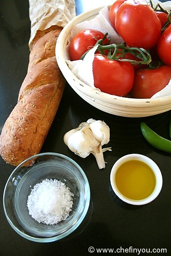 Spanish Breakfast Recipes  Pan Con Tomate Recipe Tomato on Toast