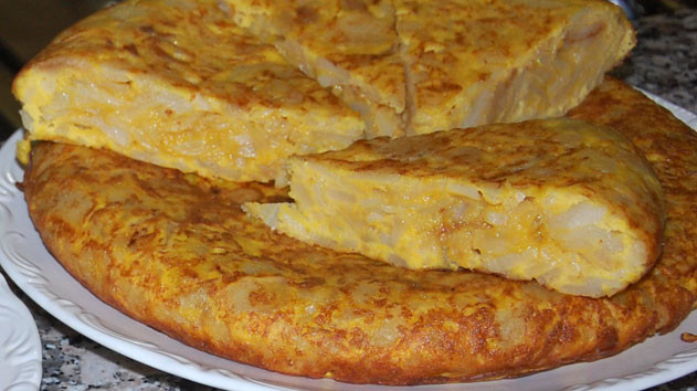 Spanish Breakfast Recipes  Spanish potato omelette recipe SBS Food