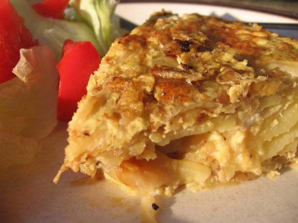 Spanish Breakfast Recipes  Tortilla Espanola Traditional Spanish Potato Omelete