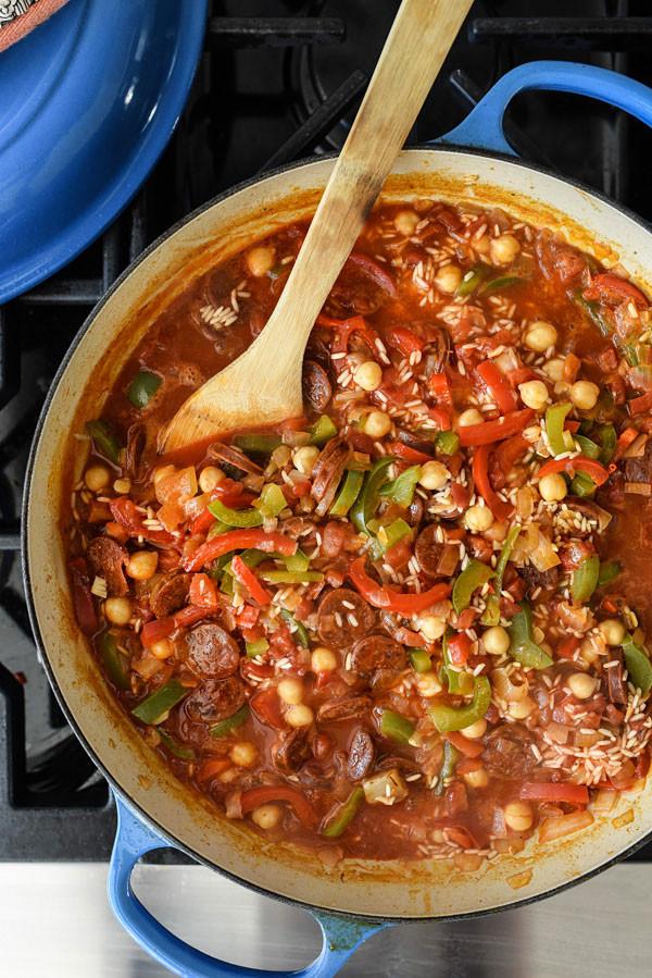 Spanish Chicken And Rice  Spanish Chicken and Rice Recipe