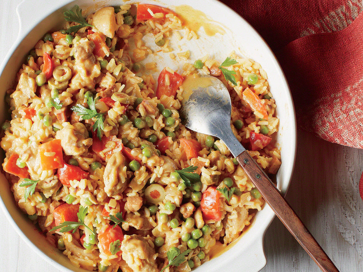 Spanish Chicken And Rice  87 Healthy Casseroles Cooking Light