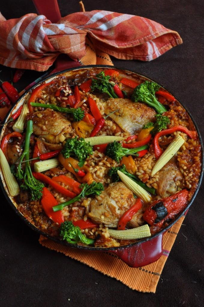 Spanish Chicken And Rice  Spanish Chicken And Rice Recipe — Dishmaps