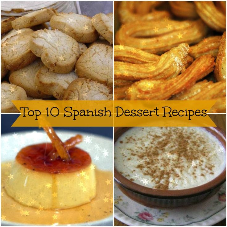Spanish Desserts List  From Flan to Arroz con Leche weve piled a list of our