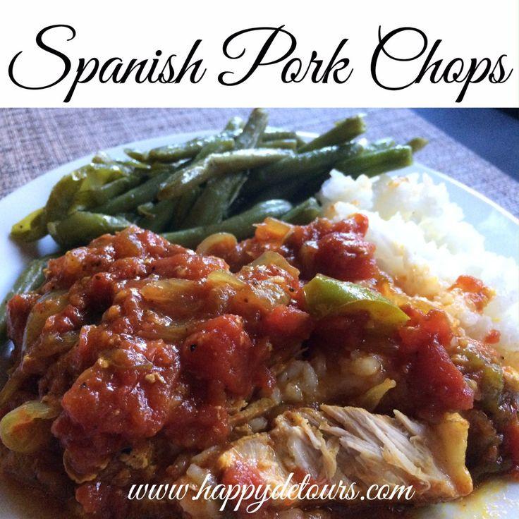 Spanish Pork Chops  1000 ideas about Spanish Pork Chops on Pinterest