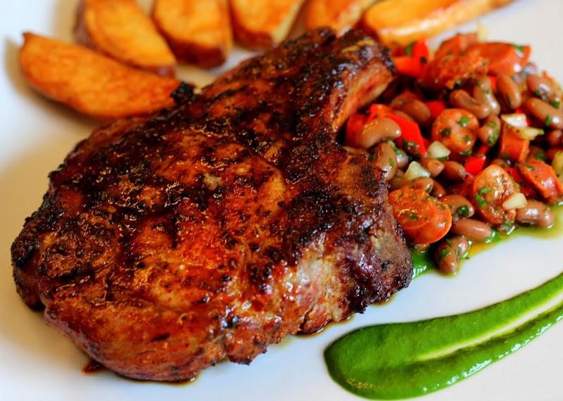 Spanish Pork Chops  Spanish Pork Chops