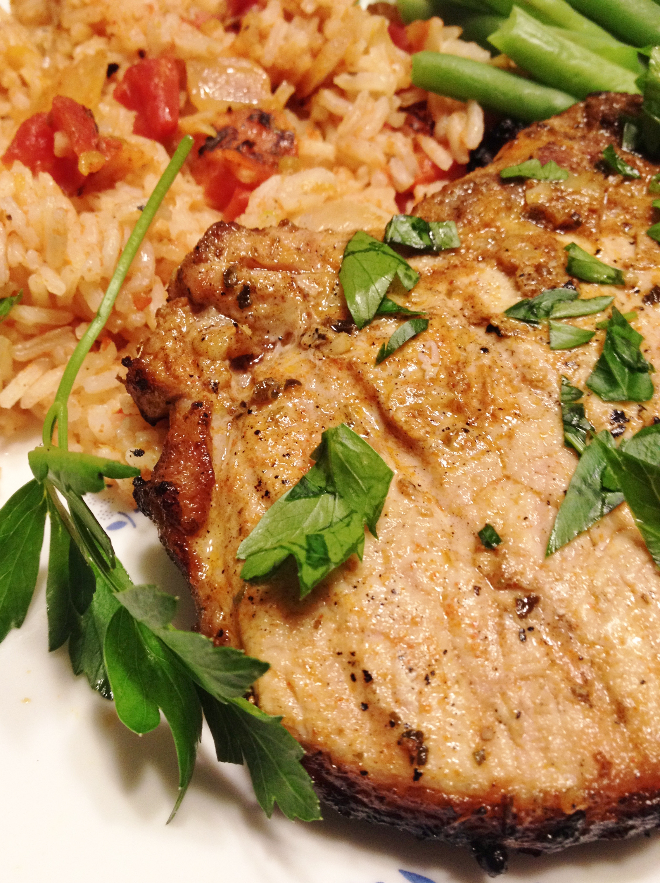 Spanish Pork Chops  Recipes and Links