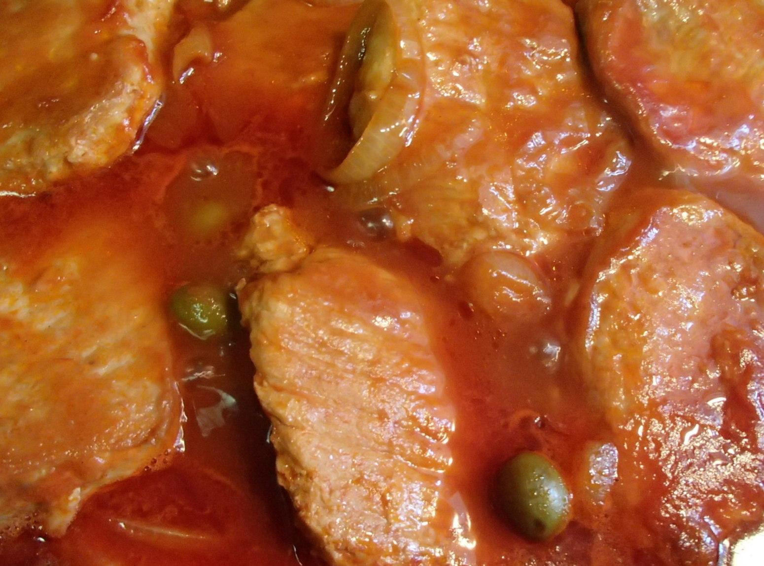 Spanish Pork Chops  Spanish Pork Chops Recipe