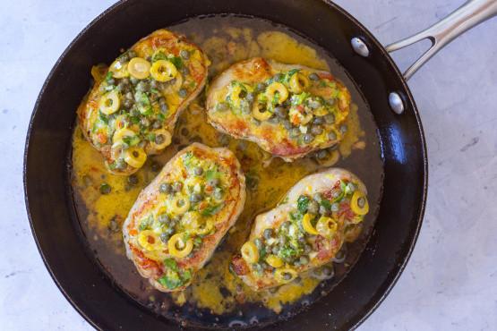 Spanish Pork Chops  Spanish Pork Recipe Genius Kitchen