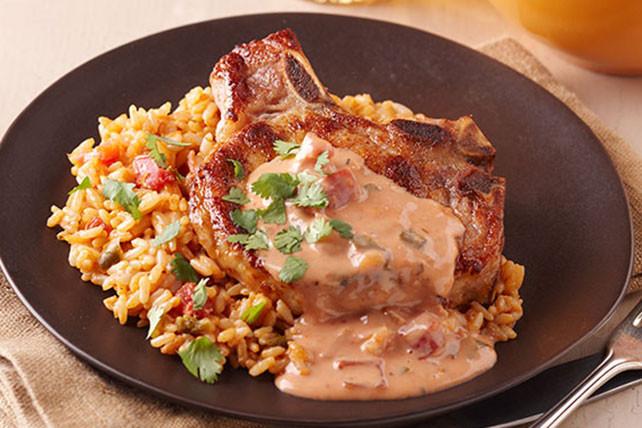 Spanish Pork Chops  Spanish Rice And Pork Chops Ideas a Minutes