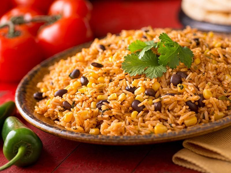 Spanish Rice And Beans Recipe  Mexican Rice and Beans