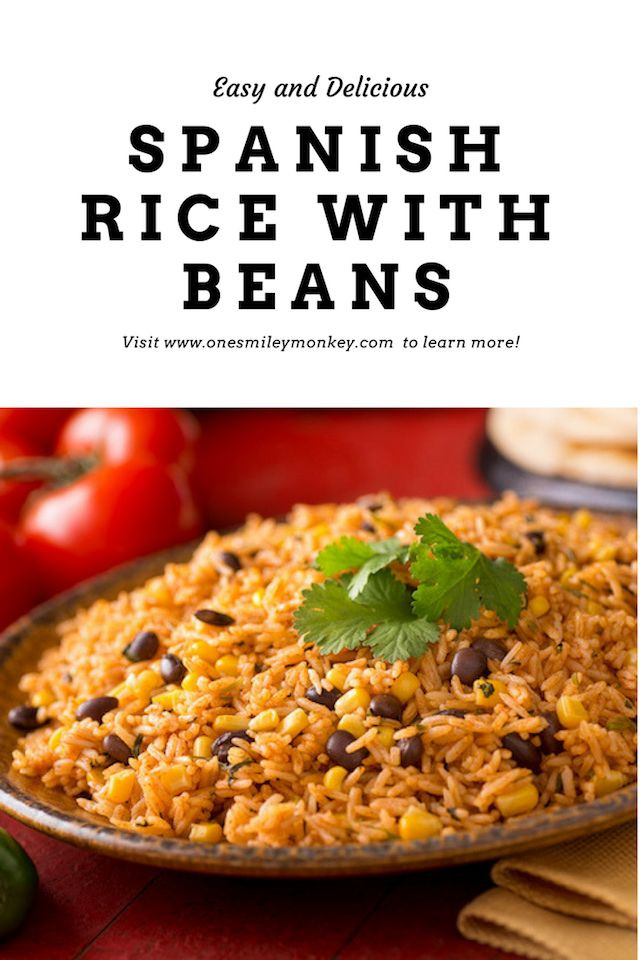 Spanish Rice And Beans Recipe  Best 20 Spanish Rice And Beans ideas on Pinterest