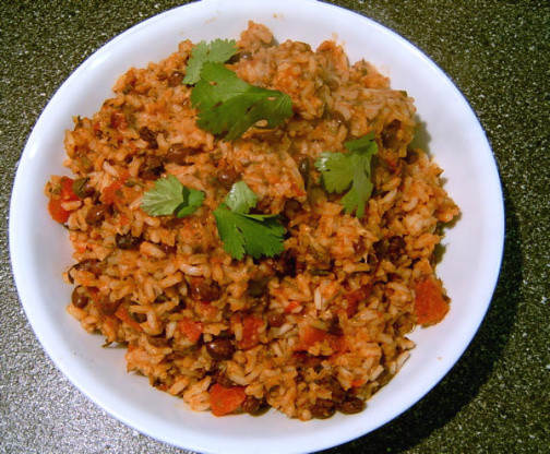 Spanish Rice And Beans Recipe  Mexican Tomato Rice And Beans Recipe Low cholesterol