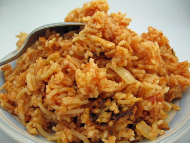 Spanish Rice In A Rice Cooker  Rice Cooker Mexican Rice Recipe Food