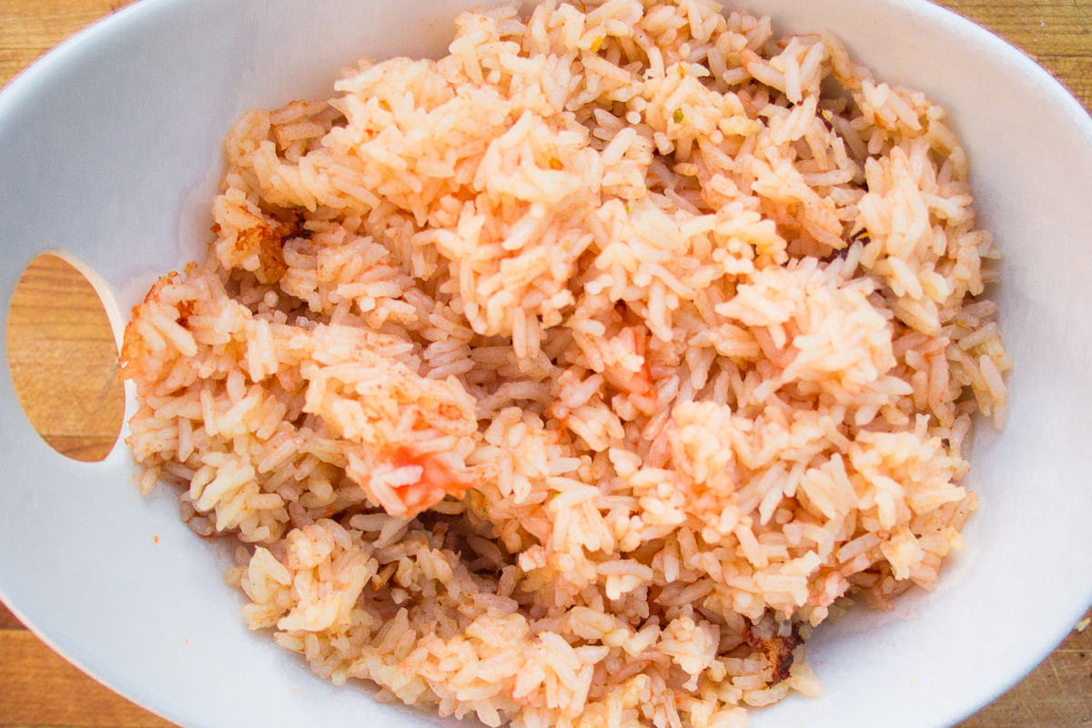 Spanish Rice In A Rice Cooker  Quick and Easy Spanish Rice In The Rice Cooker Dad With