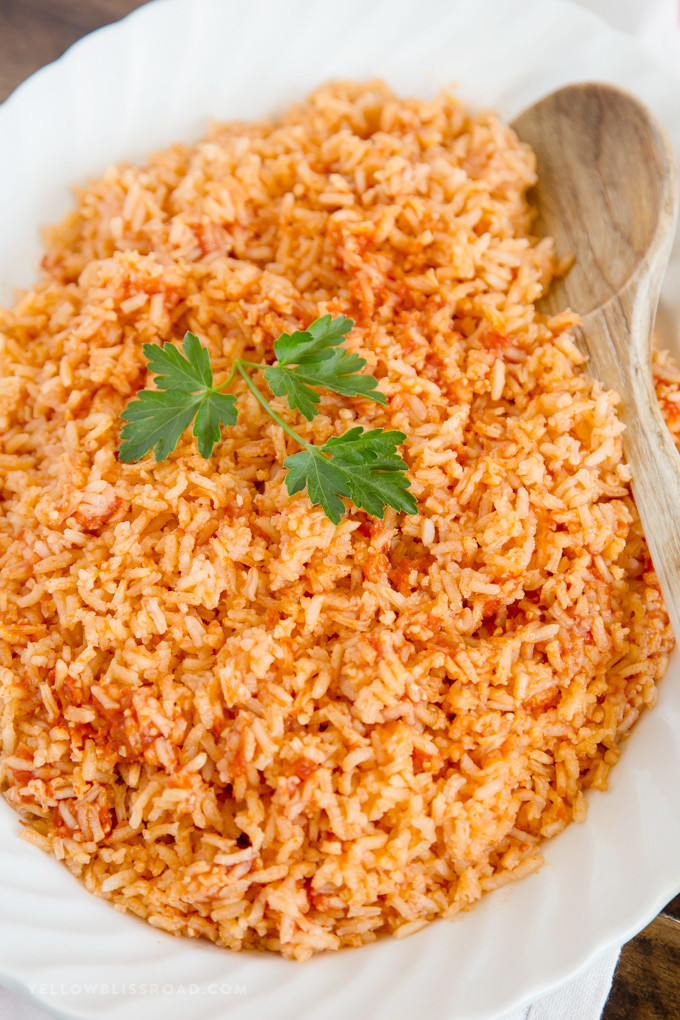 Spanish Rice Recipes  The BEST Authentic Mexican Rice Recipe