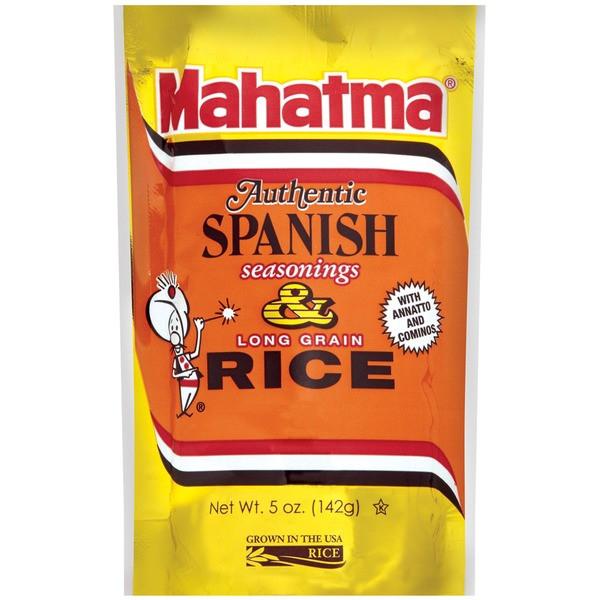 Spanish Rice Seasoning  Mahatma Long Grain & Spanish Seasonings Rice from H E B