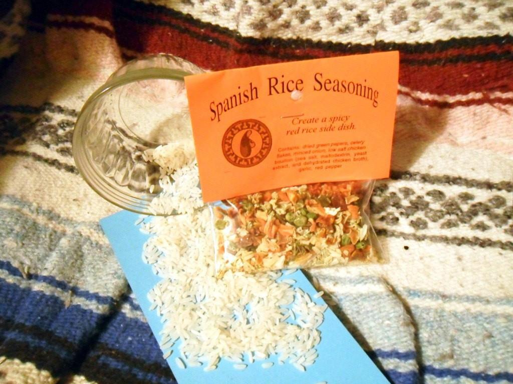 Spanish Rice Seasoning  Spanish Rice Seasoning Mix Hand blended salt free dry Herb