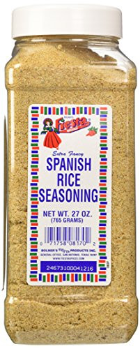 Spanish Rice Seasoning  Bolner s Fiesta Extra Fancy Spanish Rice Seasoning 27 Oz