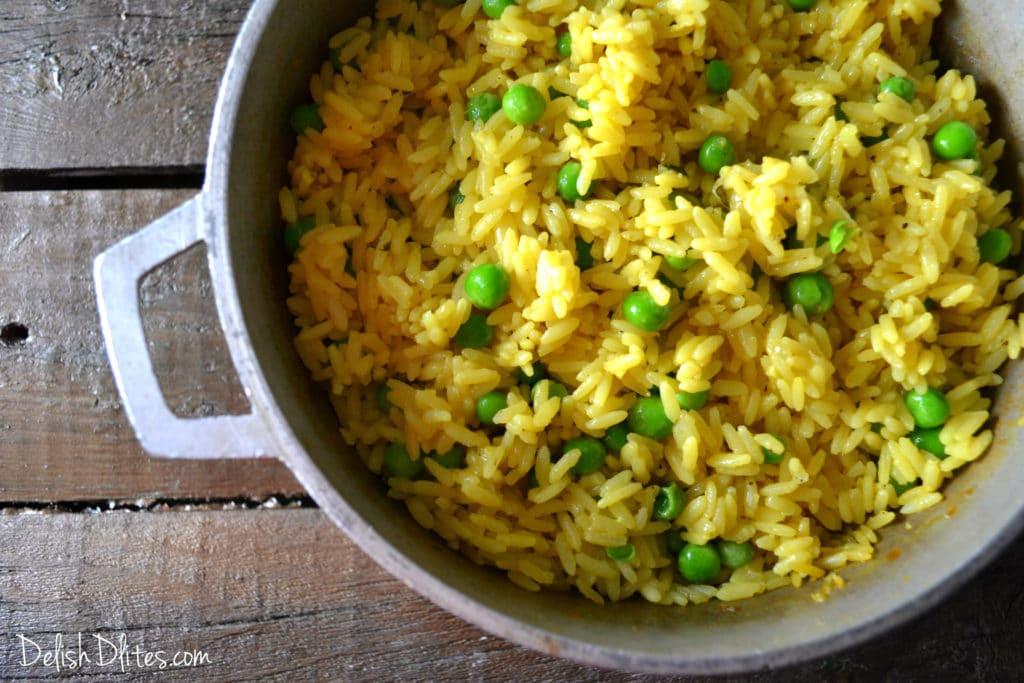 Spanish Yellow Rice Recipe  Arroz Amarillo Spanish Yellow Rice