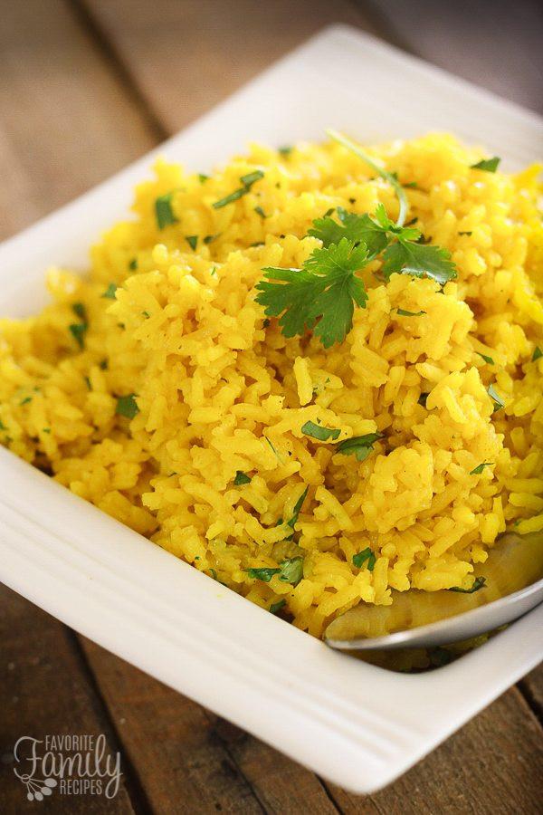 Spanish Yellow Rice Recipe  lisa s favorite mexican rice