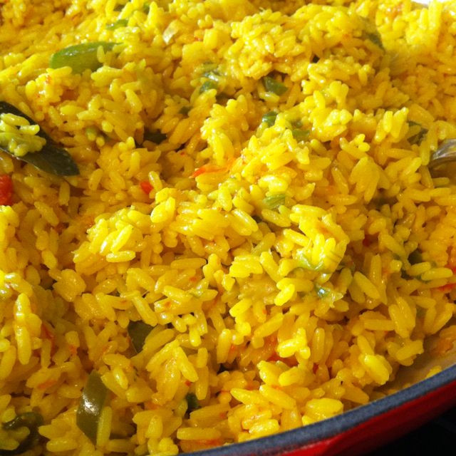 Spanish Yellow Rice Recipe  Spanish yellow rice with saffron cipe from one of my