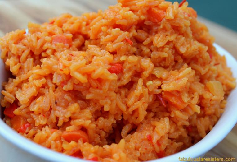 Spanish Yellow Rice Recipe  Spanish Yellow Rice – Fabulous Fare Sisters