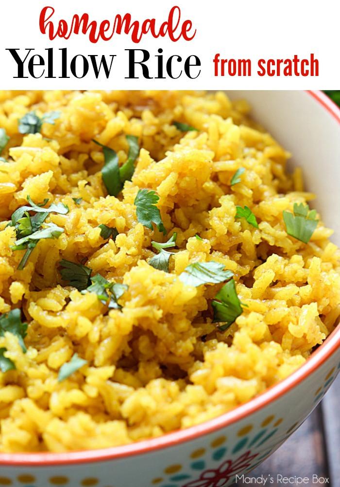 Spanish Yellow Rice Recipe  Yellow Rice