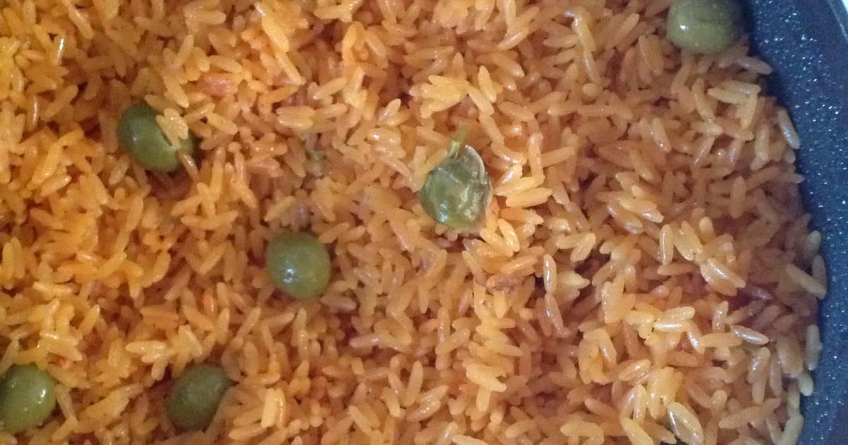Spanish Yellow Rice Recipe  Spanish Yellow Rice Recipe by crystalbroadus1979 Cookpad