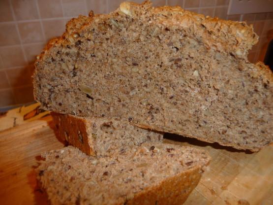 Spelt Bread Recipe  Three Minute Spelt Bread Recipe Genius Kitchen