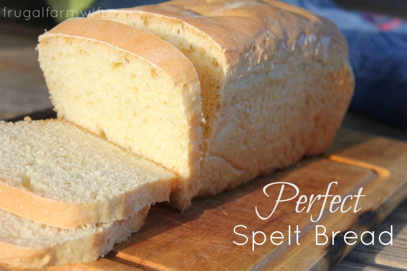 Spelt Bread Recipe  Perfect Spelt Sandwich Bread Recipe