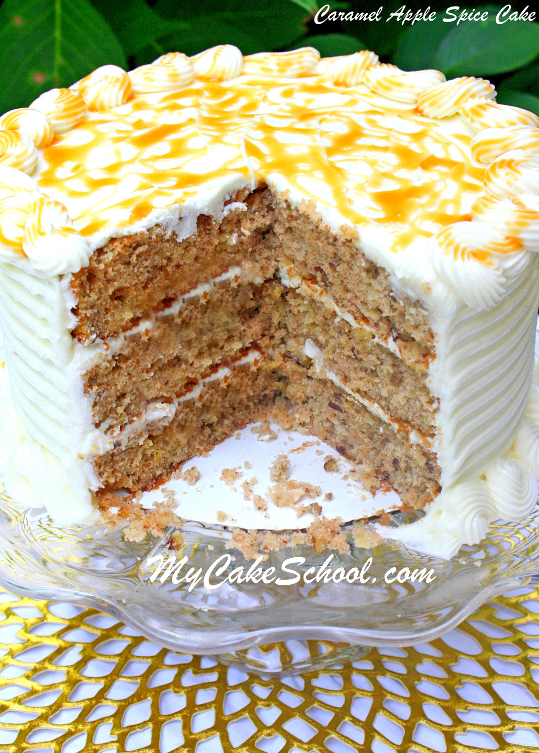 Spice Cake Recipes  Apple Spice Cake A Doctored Cake Mix Recipe