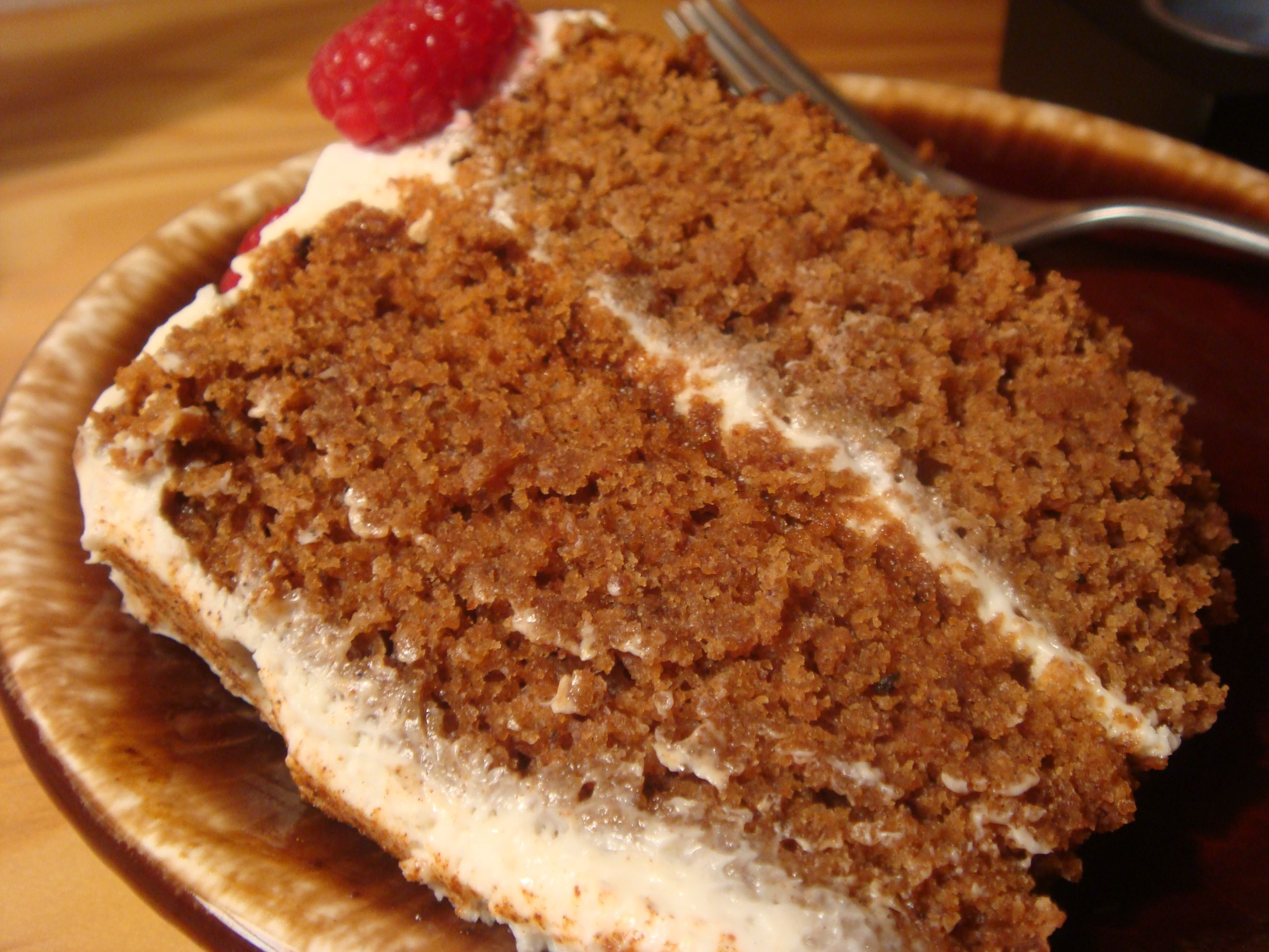 Spice Cake Recipes  Lovebirds' Kitchen Blog Archive Spice Cake with Cream