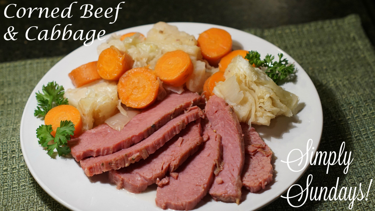 Spices For Corned Beef And Cabbage  Corned Beef & Cabbage – Simply Sundays
