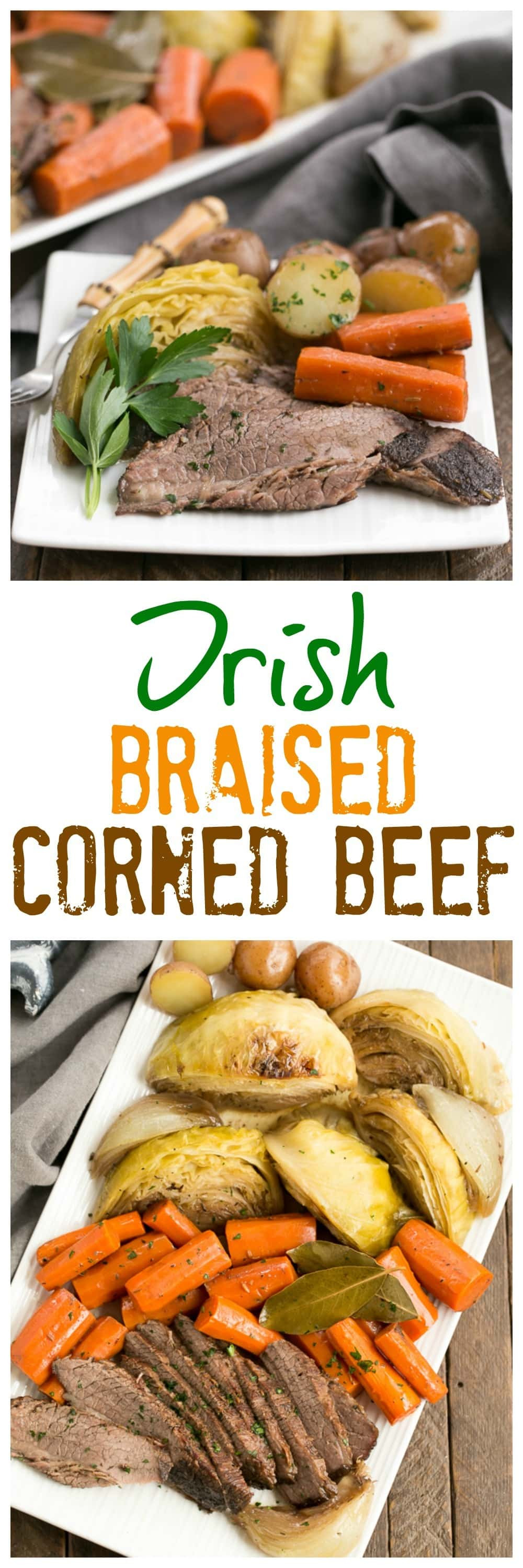 Spices For Corned Beef And Cabbage  Irish Braised Corned Beef and Cabbage That Skinny Chick