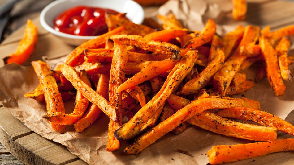 Spicy Sweet Potato Fries  Spicy Sweet Potato Fries