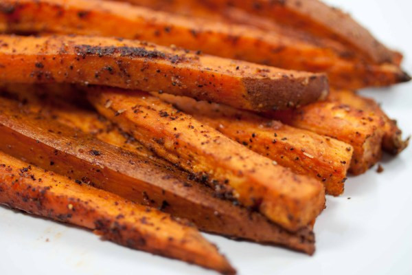 "Spicy Sweet Potato Fries  spicy sweet potato ""fries"""