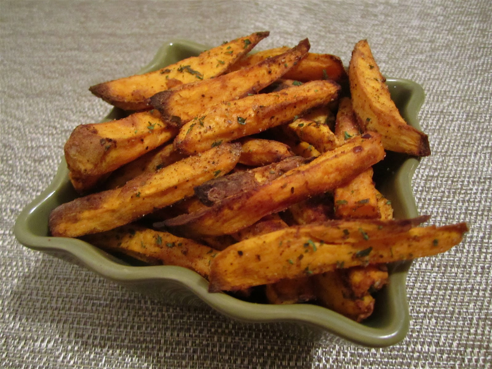 Spicy Sweet Potato Fries  Stephanie Cooks Spicy Sweet Potato Fries