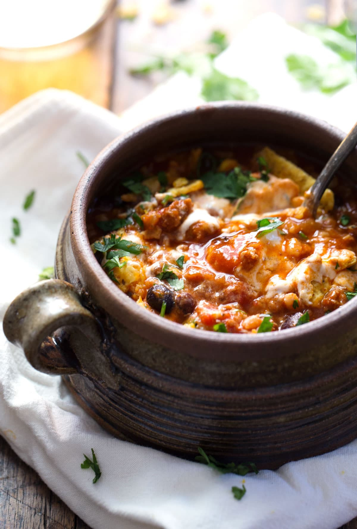 Spicy Turkey Chili Recipe  30 Minute Spicy Ancho Turkey Chili Pinch of Yum