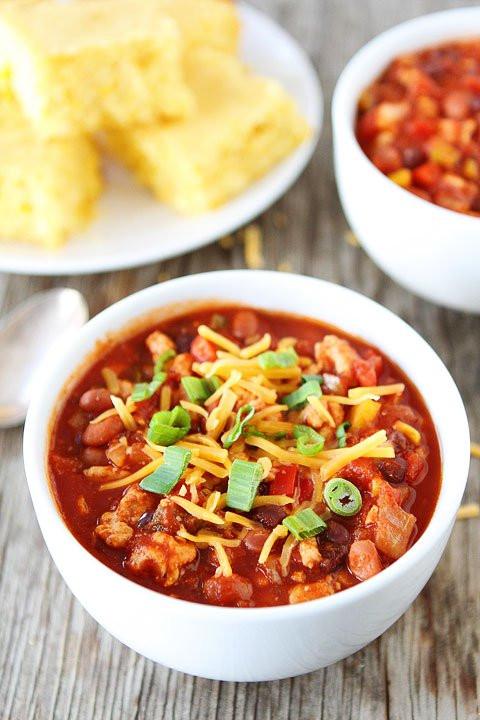 Spicy Turkey Chili Recipe  Easy Spicy Turkey Chili Recipes — Dishmaps