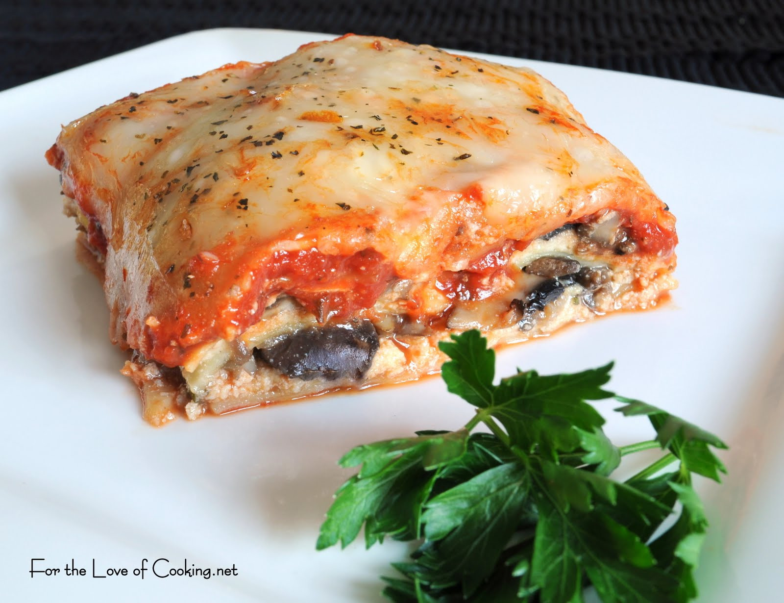 Spinach And Mushroom Lasagna  Mushroom and Spinach Lasagna