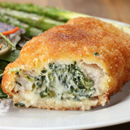 Spinach Stuffed Pork Chops  21 Stuffed Pork Recipes for Those Times When You Can t