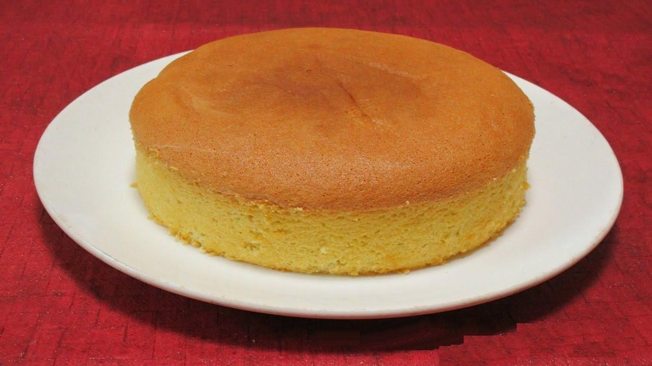 Sponge Cake Recipe  Easy Plain Sponge Cake Recipe
