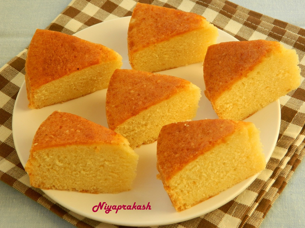 Sponge Cake Recipe  Niya s World Sponge Cake 3rd recipe